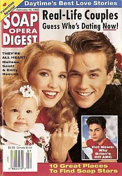 February 16, 1993 Soap Opera Digest