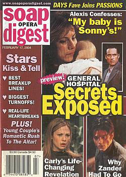 Soap Opera Digest Feb. 17, 2004