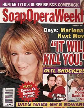 Soap Opera Weekly February 17, 2004
