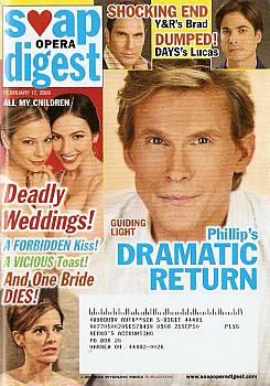 Soap Opera Digest February 17, 2009