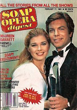 February 17, 1981 issue of Soap Opera Digest