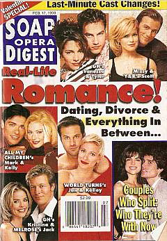 Soap Opera Digest - February 17, 1998