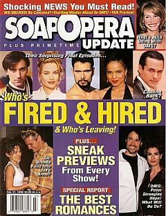 February 17, 1998 issue of Soap Opera Update magazine