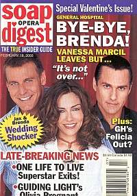 Soap Opera Digest Feb. 18, 2003