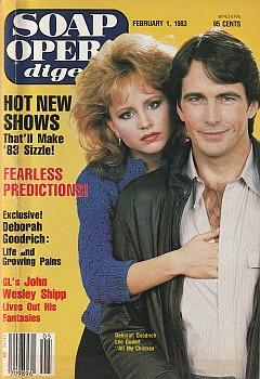 February 1, 1983 Soap Opera Digest