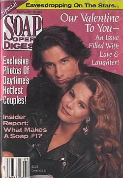 Soap Opera Digest February 18, 1992