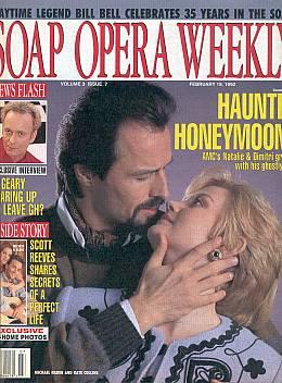 Soap Opera Weekly February 18, 1992