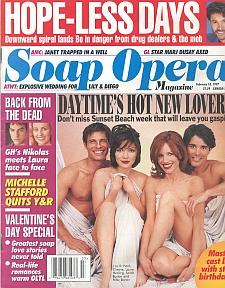 Soap Opera Magazine February 18, 1997