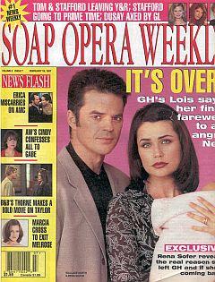 Soap Opera Weekly February 18, 1997