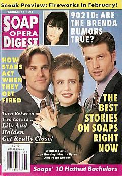Soap Opera Digest - February 1, 1994