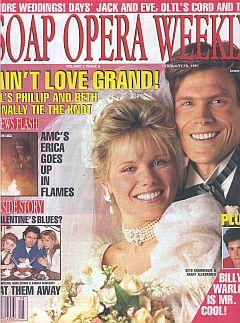 Soap Opera Weekly February 19, 1991