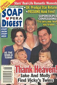 Soap Opera Digest Feb. 20, 2001