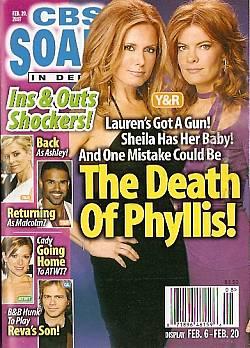 CBS Soaps In Depth February 20, 2007