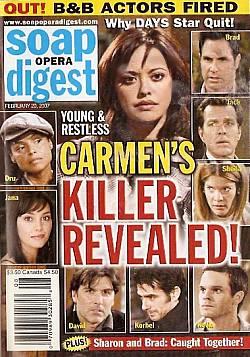 Soap Opera Digest Feb. 20, 2007