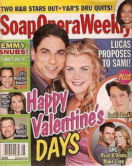 Soap Opera Weekly February 20, 2007