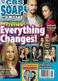CBS Soaps In Depth Feb. 20, 2017