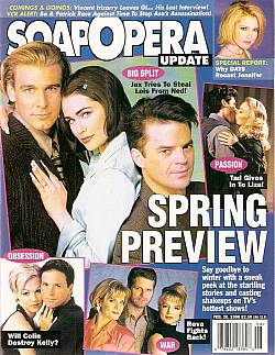 February 20, 1996 issue of Soap Opera Update magazine