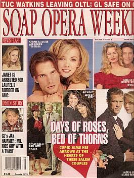 Soap Opera Weekly February 20, 1996