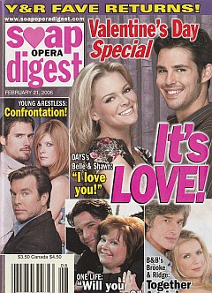 Soap Opera Digest Feb. 21, 2006