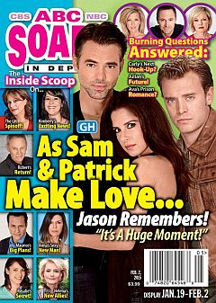 February 2, 2015 issue of ABC Soaps In Depth magazine