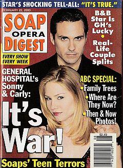 Soap Opera Digest - February 22, 2000
