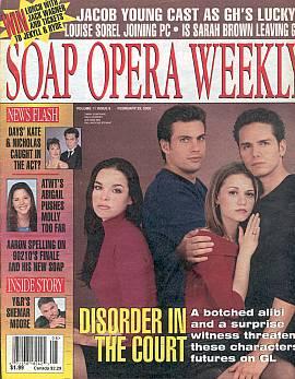 Soap Opera Weekly February 22, 2000