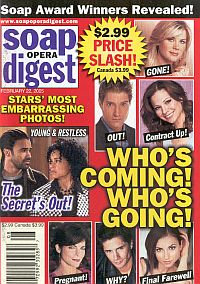 Soap Opera Digest Feb. 22, 2005