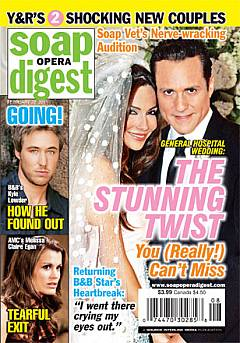 Soap Opera Digest February 22, 2011