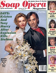 Soap Opera Magazine February 22, 1994