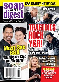 Soap Opera Digest Feb. 23, 2015