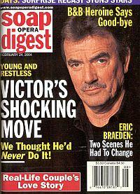 Soap Opera Digest Feb. 24, 2004