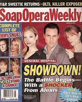 Soap Opera Weekly February 24, 2004