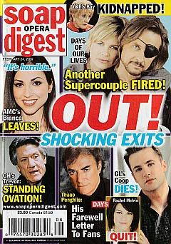 Soap Opera Digest February 24, 2009