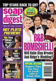 Soap Opera Digest Feb. 24, 2014