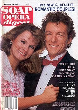 Soap Opera Digest February 24, 1987