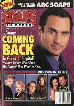 February 24, 1998 issue of ABC Soaps In Depth magazine