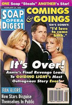 Soap Opera Digest - February 24, 1998