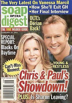 Soap Opera Digest Feb. 25,2003