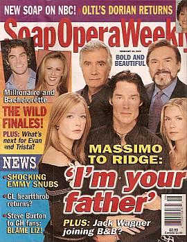 Soap Opera Weekly February 25, 2003