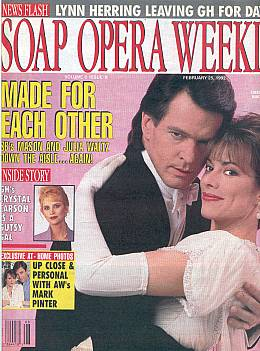Soap Opera Weekly February 25, 1992