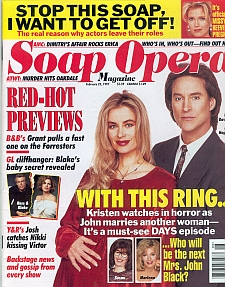 Soap Opera Magazine February 25, 1997