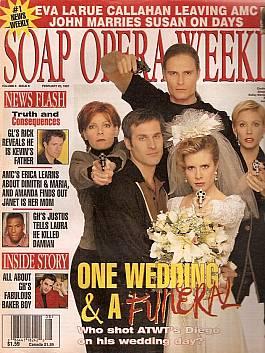 Soap Opera Weekly February 25, 1997