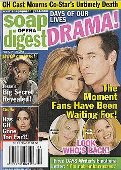Soap Opera Digest February 26, 2008