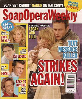 Soap Opera Weekly Feb. 26, 2008