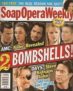 Soap Opera Weekly February 27, 2007