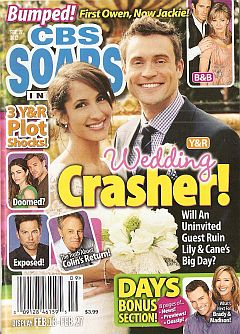 February 27, 2012 issue of CBS Soaps In Depth magazine
