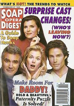 Soap Opera Digest - February 27, 1996