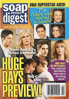 Soap Opera Digest February 28, 2012
