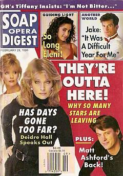 Soap Opera Digest - February 28, 1995