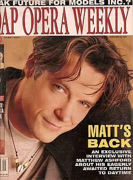 Soap Opera Weekly February 28, 1995